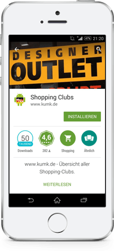 Shopping-Club App